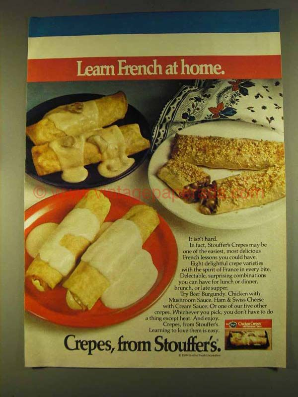 French Advert Kitchen Mushroom Sign Cuisine Cepes
