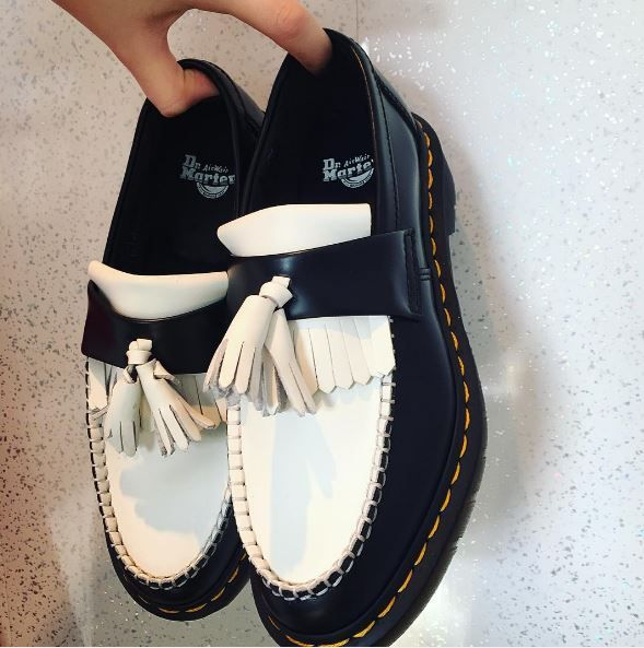 The Adrian Black and White loafer