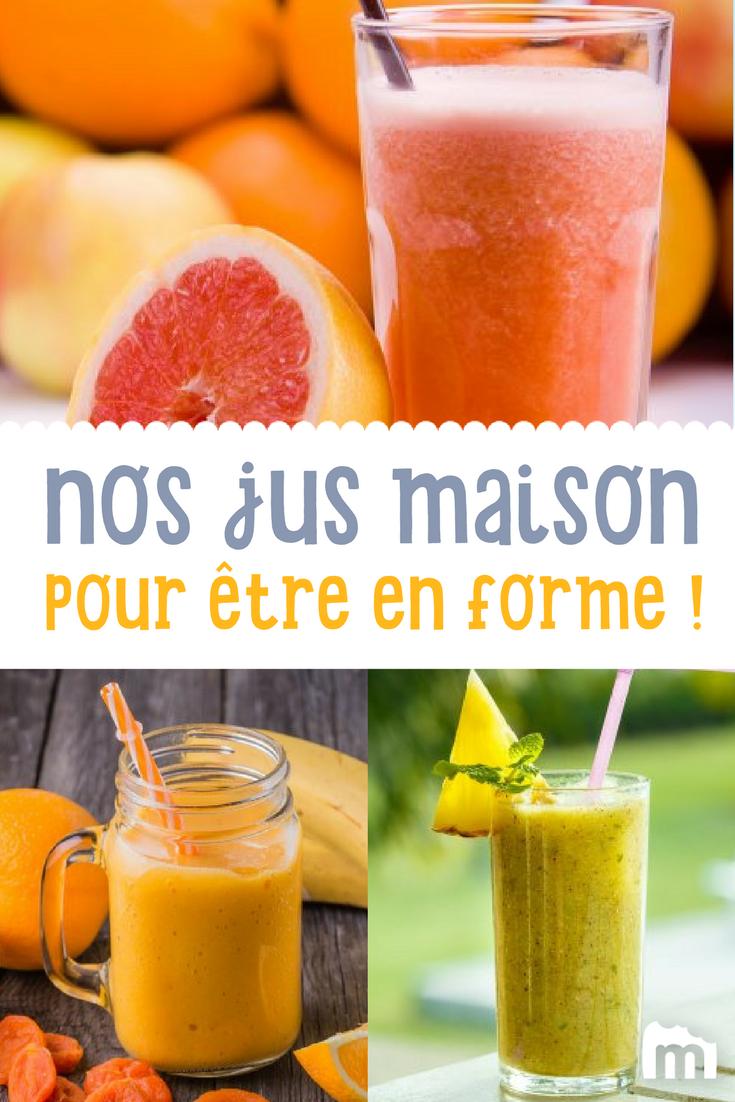 Jus de fruits frais fait maison /// jus fruits marmiton ...