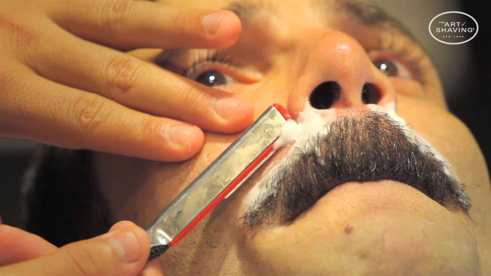 How to get the Chevron Mustache Mustache grooming