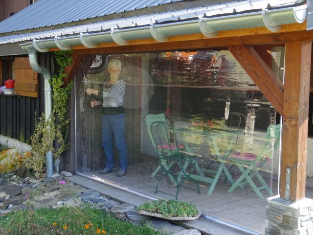 r sultat de recherche d 39 images pour rideaux plastique transparent pour terrasse v randas en. Black Bedroom Furniture Sets. Home Design Ideas