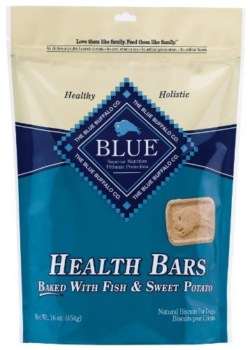$13.58-$8.49 Natural BLUE Health Bars feature delectable flavors and crunchy textures your dog will love munching away at — while they're helping to clean his teeth, too. But here's the best part: you can feel good knowing he's eating healthy too.