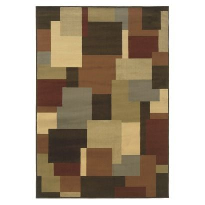 Contemporary Squares Area Rug Brown Area Rugs Square Area Rugs Beige Area Rugs