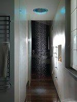 Soffione doccia con illuminazione SANDWICH COLOURS By CRISTINA Rubinetterie design Gianluigi Landoni