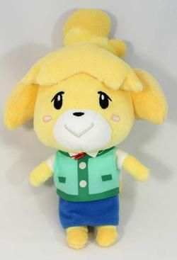Isabelle Animal Crossing Plush Toy Want U 彡