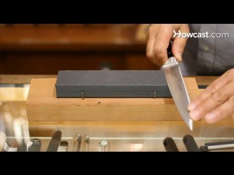 How To Use A Sharpening Stone Knives Sharpening Stone Japanese Cooking Knives Knife
