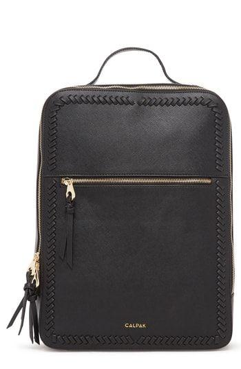 a80e7a7dc New Calpak Kaya Faux Leather 15-Inch Laptop Backpack. Women's Fashion  Handbags [$89
