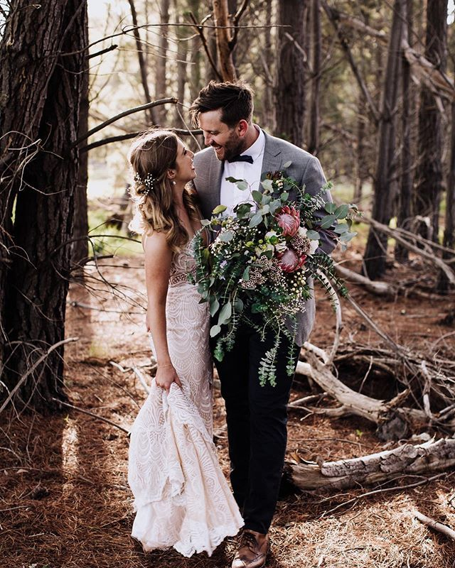 Those Forest Boho Vibes On Your Wedding Day @beherebenow