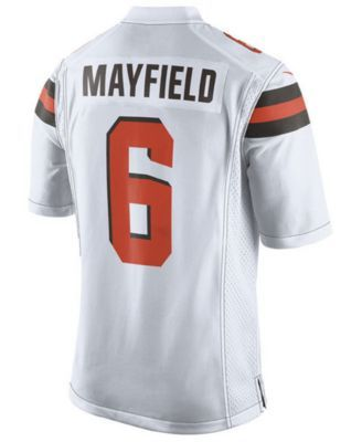 huge selection of 25696 151b9 Men's Baker Mayfield Cleveland Browns Game Jersey in 2019 ...
