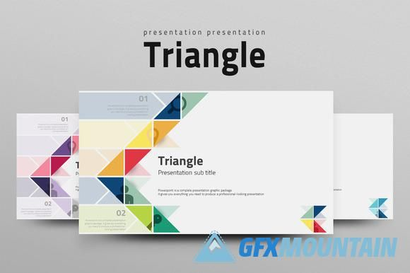 Presentation Templates Gfx Triangle Powerpoint Presentation Template