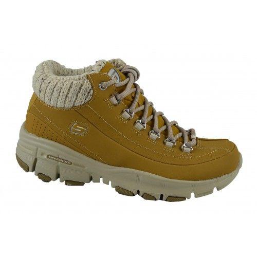 captura Supresión rescate  Botines montaña rust SKECHERS   Zapatos Online   Calzado Mujer   Boots,  Footwear, Hiking boots