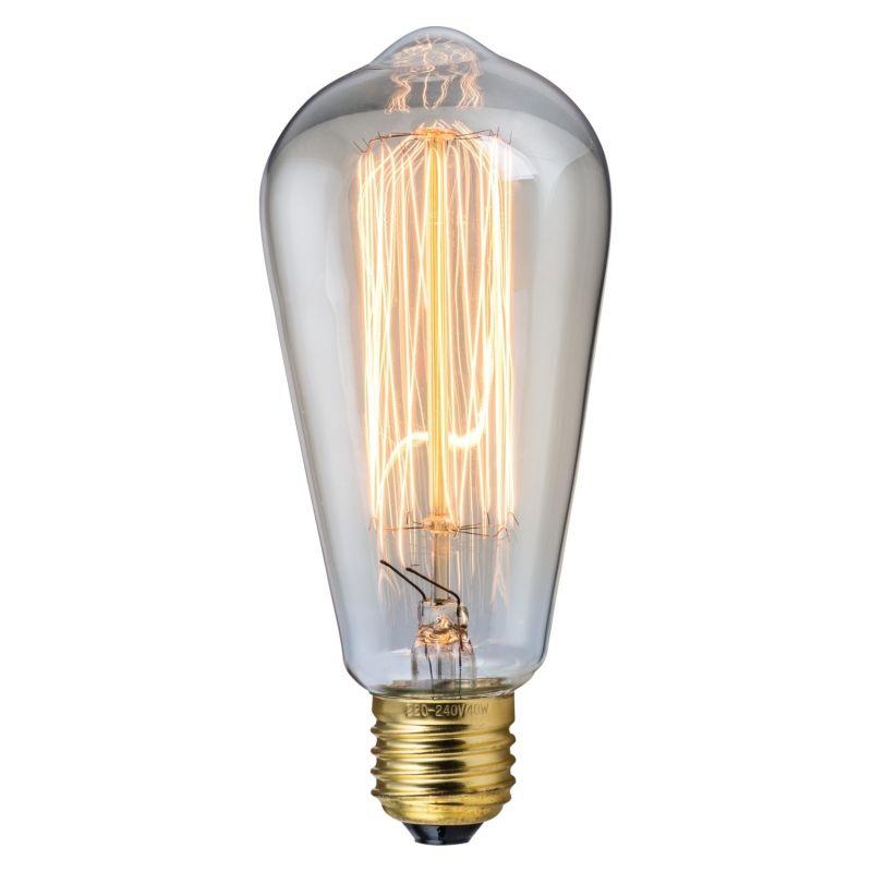 Glühlampe Kolbenform E27 40W Glühfaden Edison | Einrichtung ...