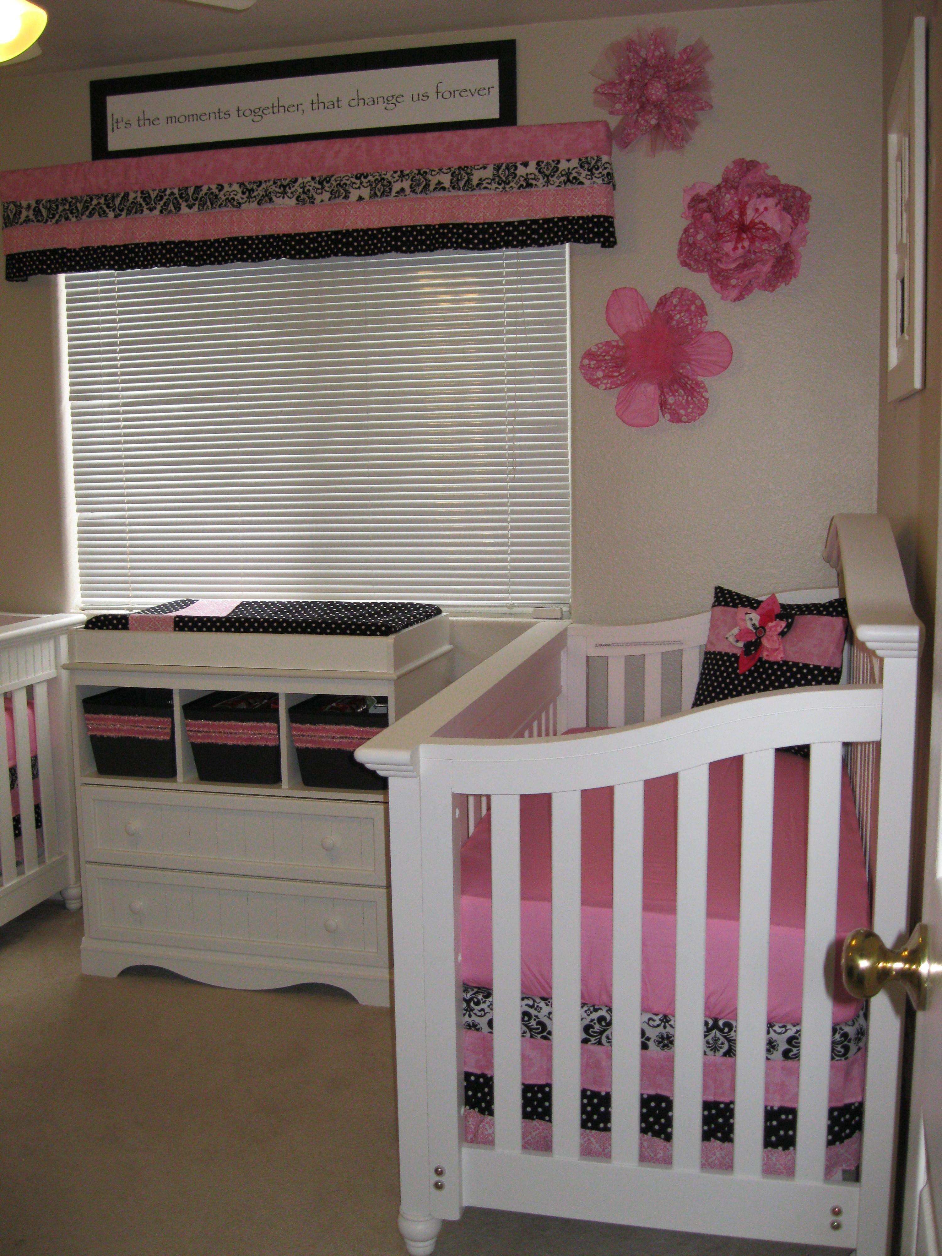 Nursery for Twin girls makes me thinke of Katrina