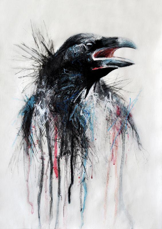 Raven by *Aetere on deviantART