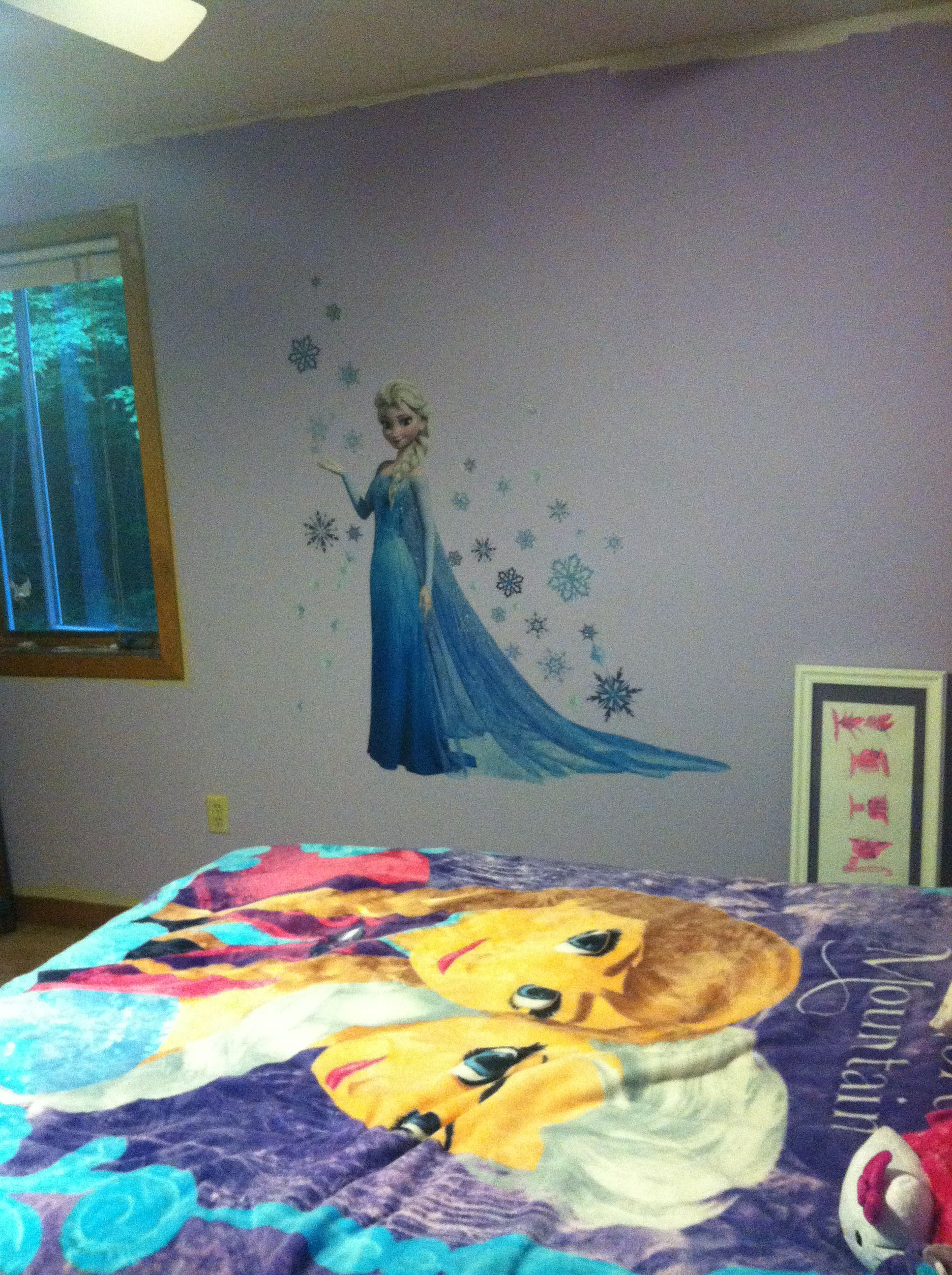 Einin S Room Elsa Frozen Ice Castle Wall Decal