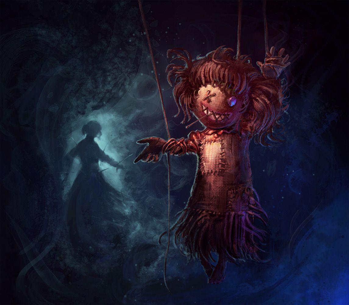 Pix For Voodoo Doll Art Voodoo Dolls Art Creepy Images