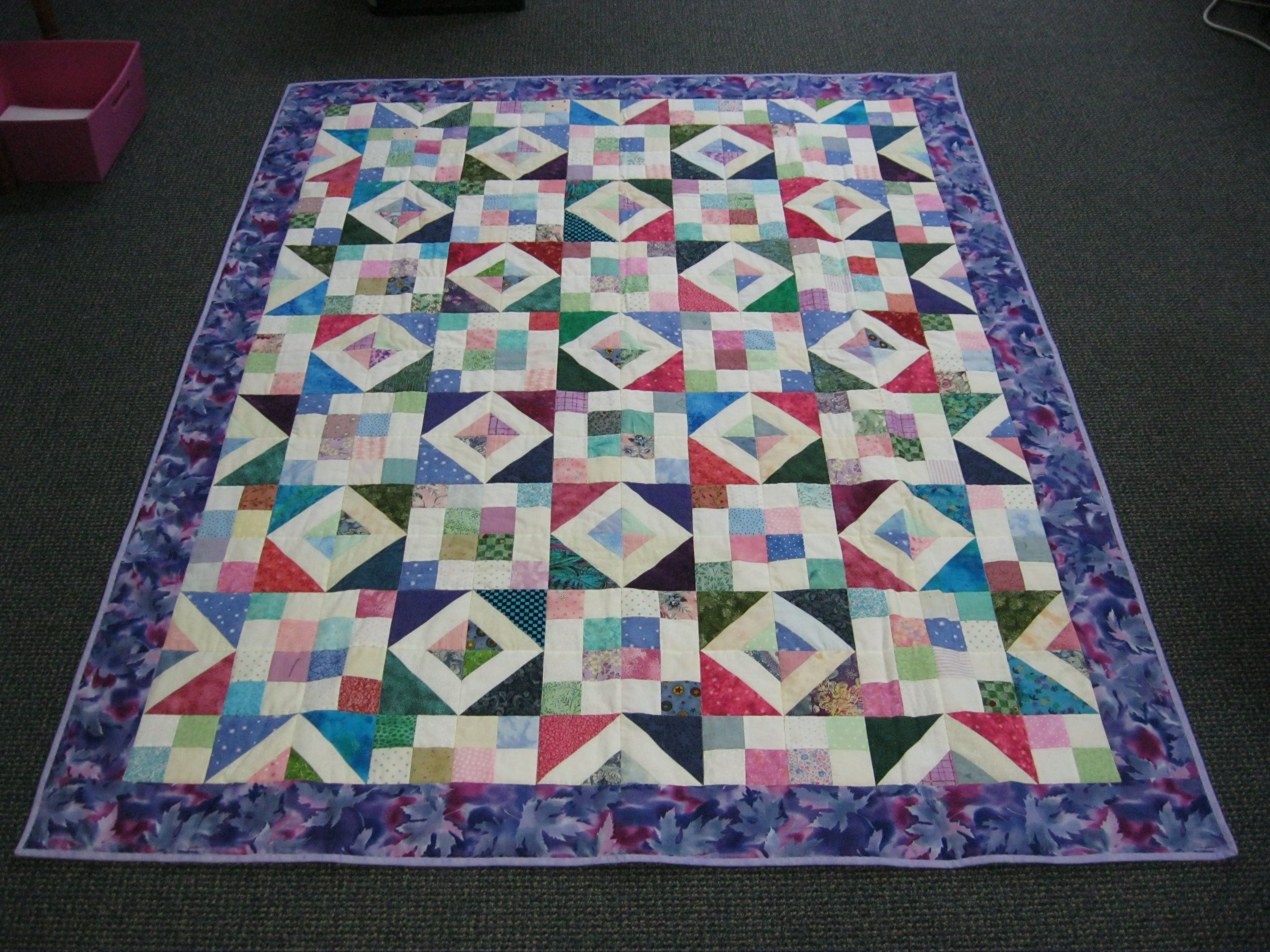 Betty Hofstsetter of Millersburg, OH made and donated this quilt to Hopes & Dreams. www.hopesanddreams.quiltersdreambatting.com
