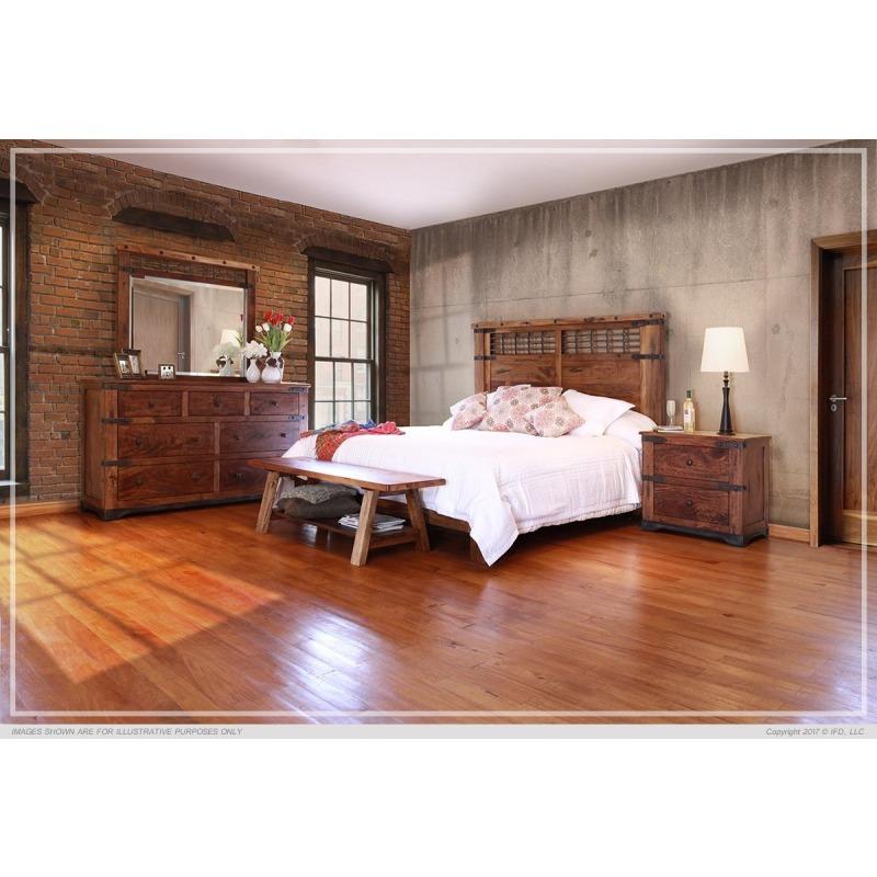Parota Queen Size 6 Piece Bedroom Set Available At Missouri Furniture Bedroomset Queenbedroo Bedroom Furniture Sets Rustic Bedroom Furniture Sets Bedroom Set