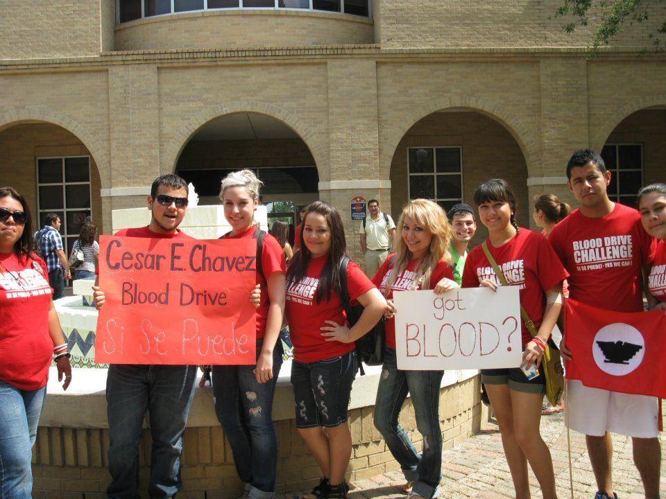 Pin On National Cesar E Chavez Blood Drive Challenge
