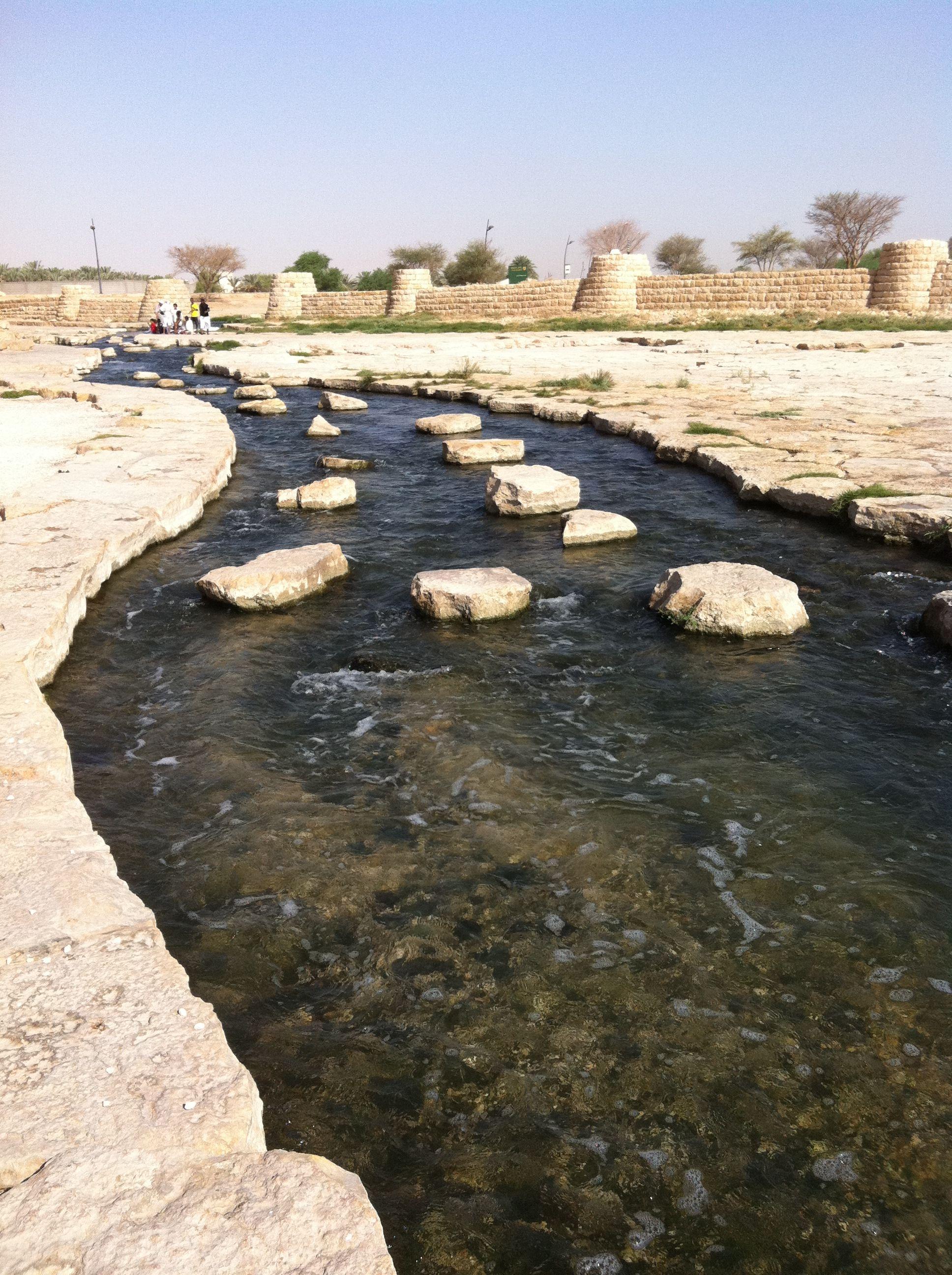Wadi Hanifah Desert Landscaping Wadi Mud House