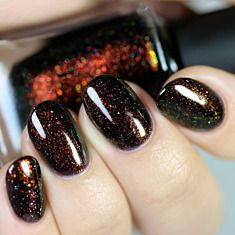 Underground - Deep Black Jelly Holographic Shimmer