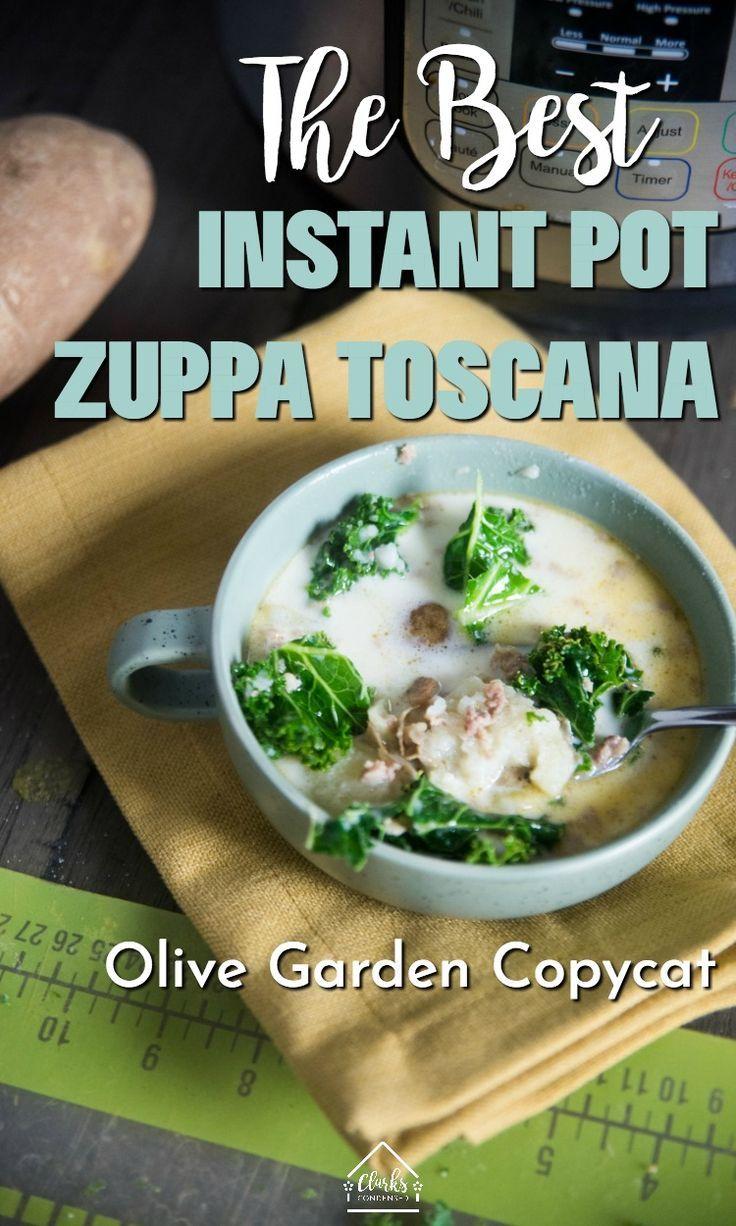 Instant Pot Zuppa Toscana #meltingpotrecipes