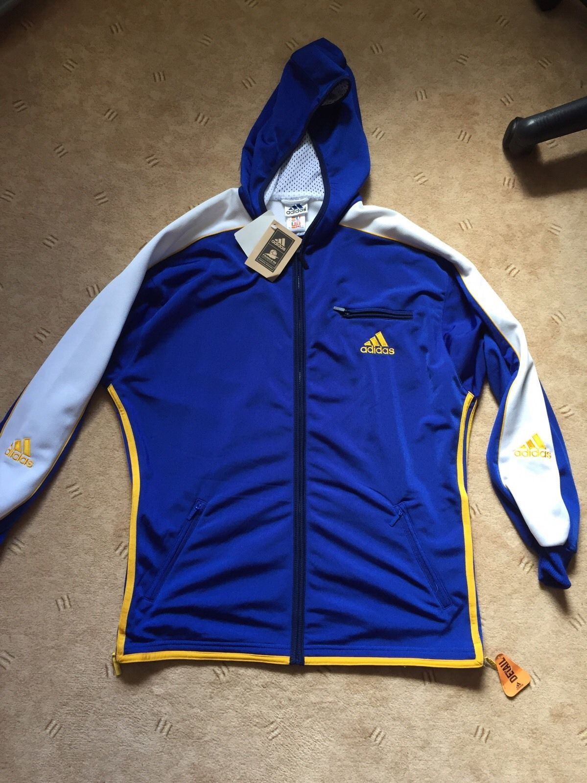 Adidas Jacke Kapuzen Pullover Luando Vintage Retro 90er 6 M