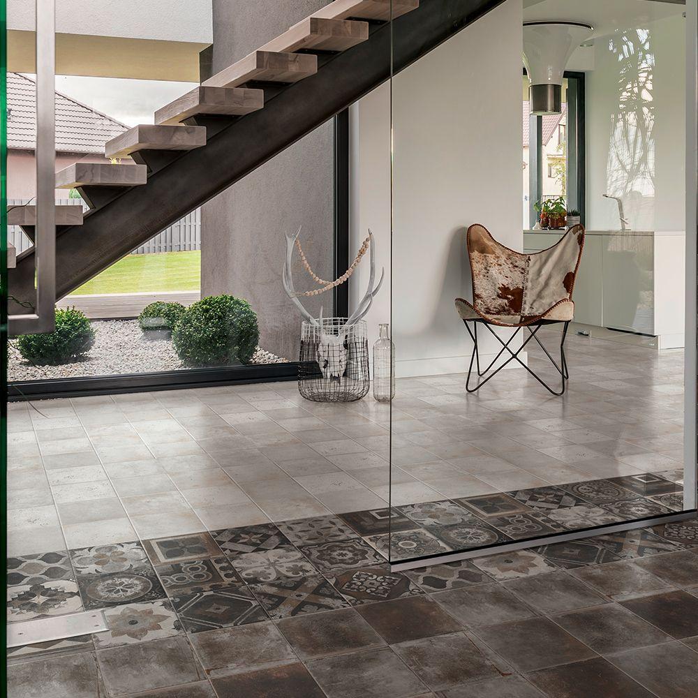 Deco Imitation Carreaux De Ciment carrelage sol et mur décor imitation carreaux de ciment