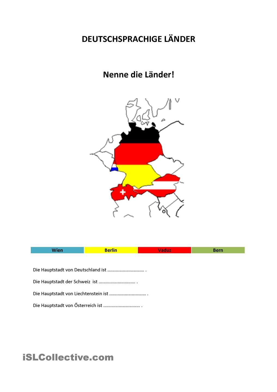 Deutschsprachige Laender | 11 DL Landeskunde | Pinterest