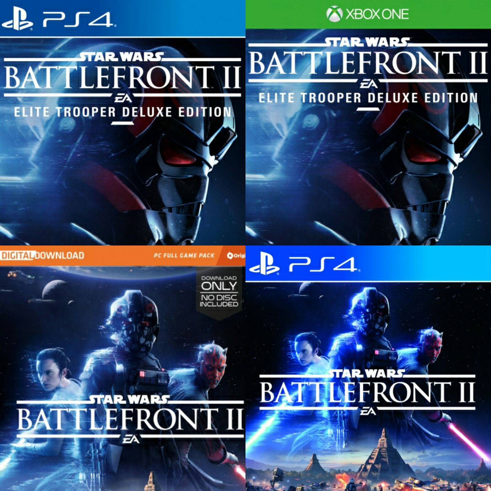 Pre Order Star Wars Battlefront 2 Now Available On Ps4 Xbox One