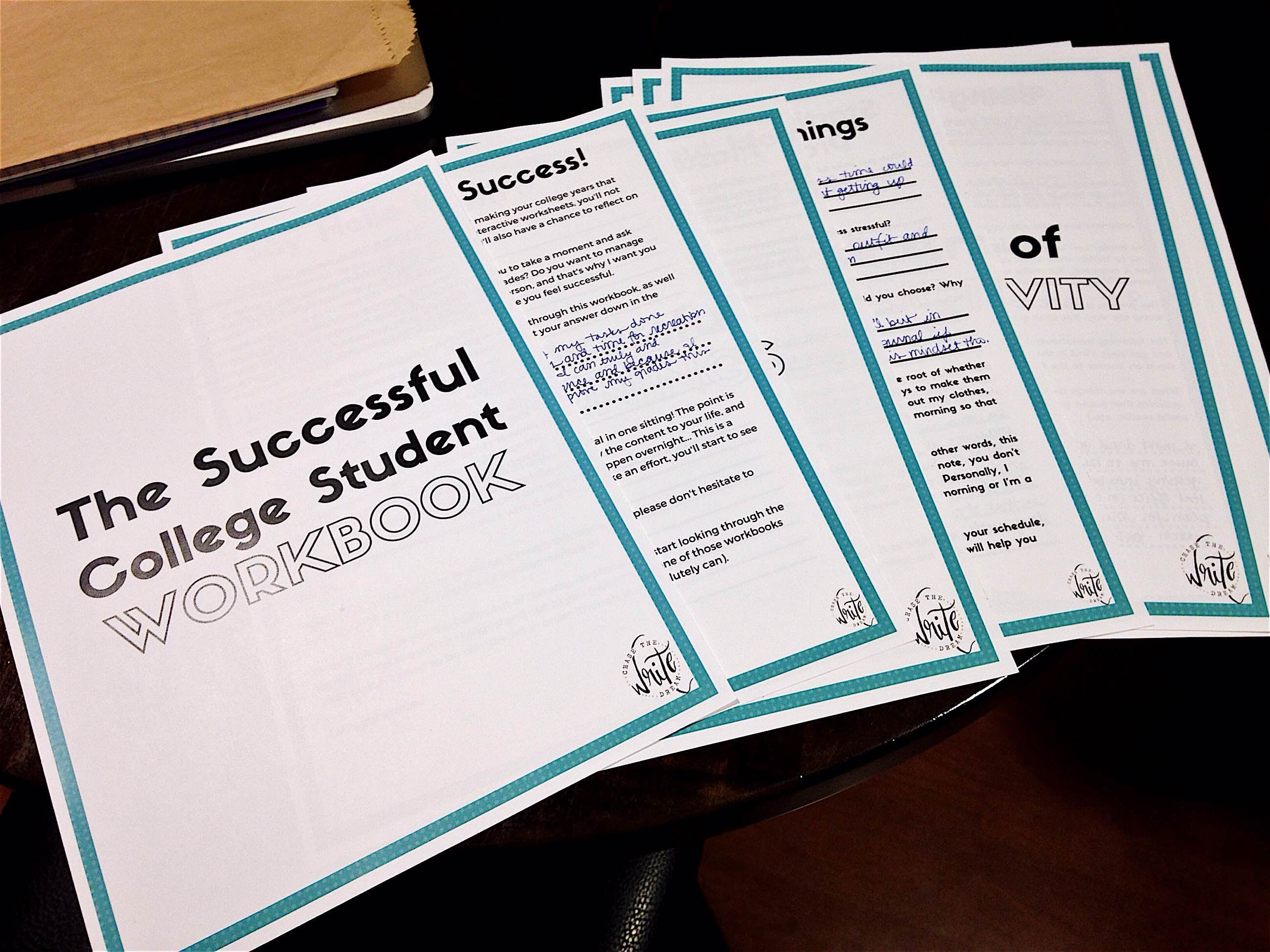 The Successful College Student Workbook