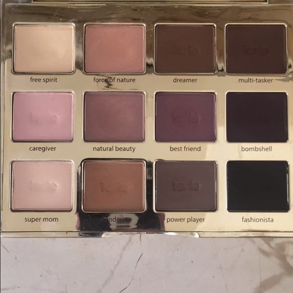 Tartelette palette! The tartelette palette by Tarte is a cool tone lovers dream! With super blend-able eye shadows, it's easy to achieve a purple smokey eye! All of the colors are great and pigmented, and so many looks can be achieved! tarte Makeup Eyeshadow