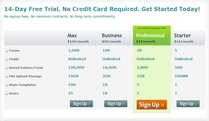 data table design examples. 20 Best Designed Pricing Comparison Table Examples Data Design