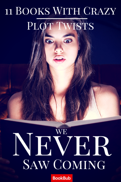 11 Crazy Plot Twists We Never Saw Coming Mystery Thriller Books