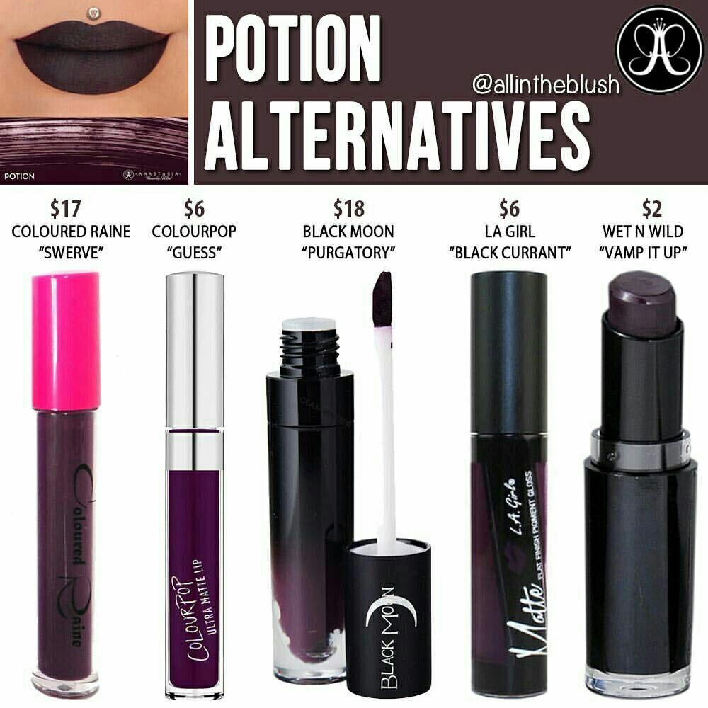 IIIannaIII Lipstick dupes, Makeup dupes, Liquid