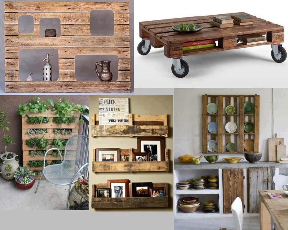 Ideas! For the Home Pinterest Pallets, Box and Crates - ideas con palets