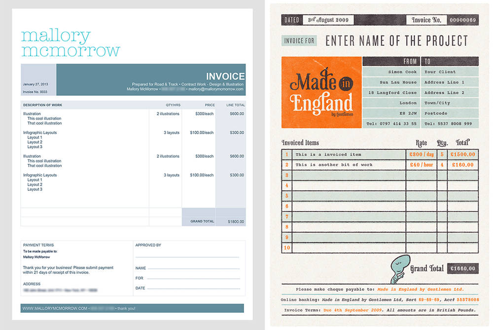 How To Create A Self Employed Invoice Template In  Steps  Self