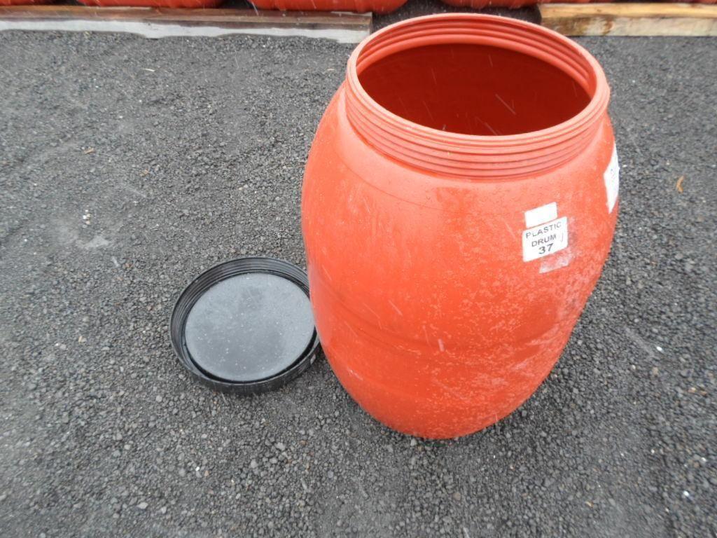 47 Gallon Pickle Barrel Plastic Fg 6 Pack Repurposedmaterials Plastic Drums Pickled Barrel Barrel