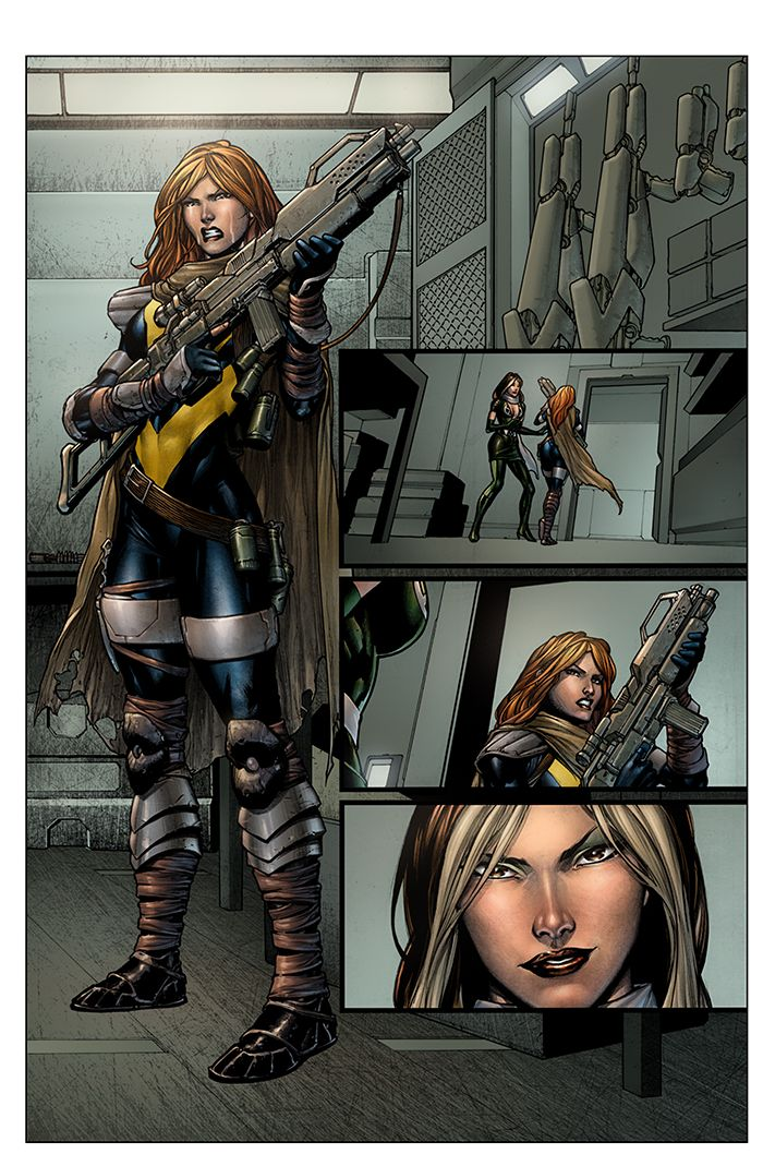 New Mutants - Hope Summers and Rogue