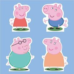 familia peppa pig - Buscar con Google