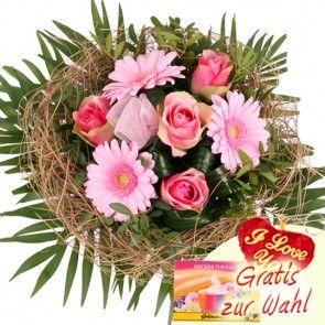 Blumenstrauss Blutentraum In Rosa Blumen Online Verschicken Mit