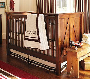 Gorgeous Brookfield Farmhouse Inspired Crib For A Boy