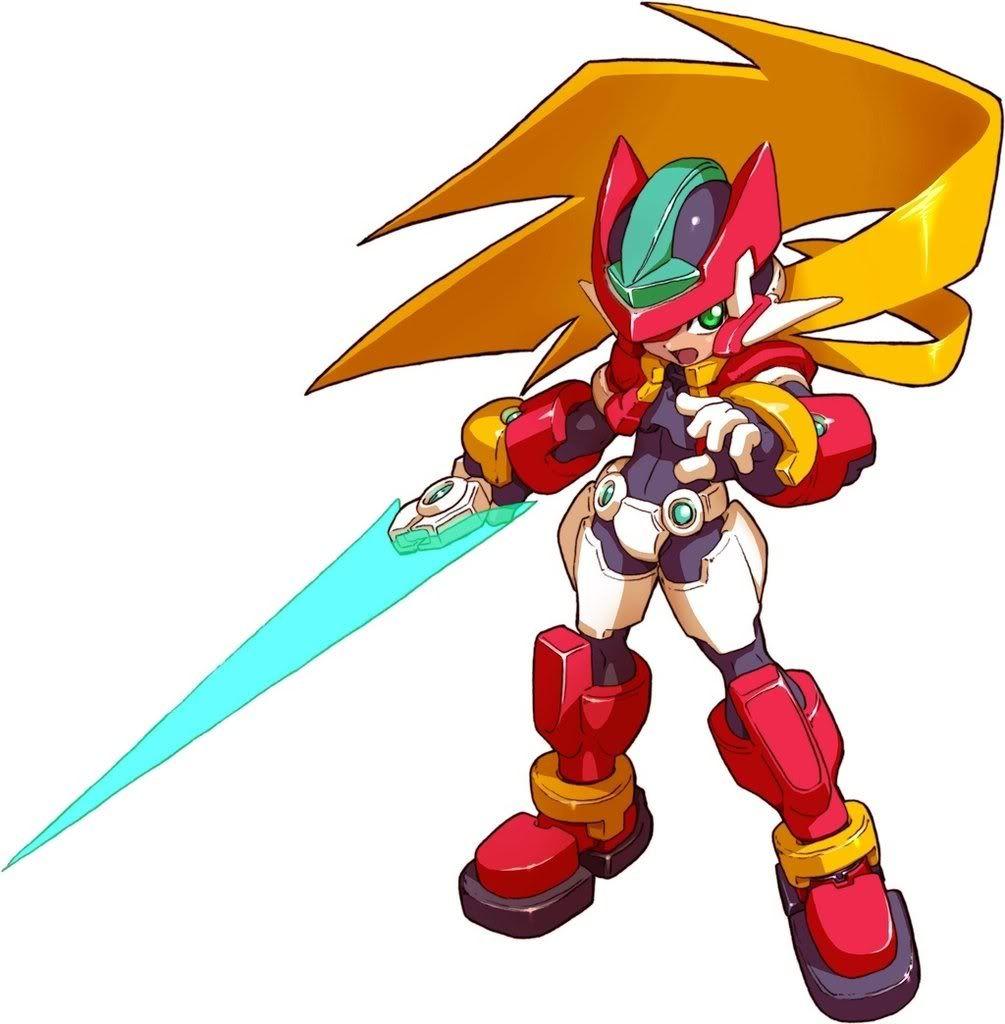 Megaman Zx Model Z Amp X Mega Man Art Mega Man Character Art