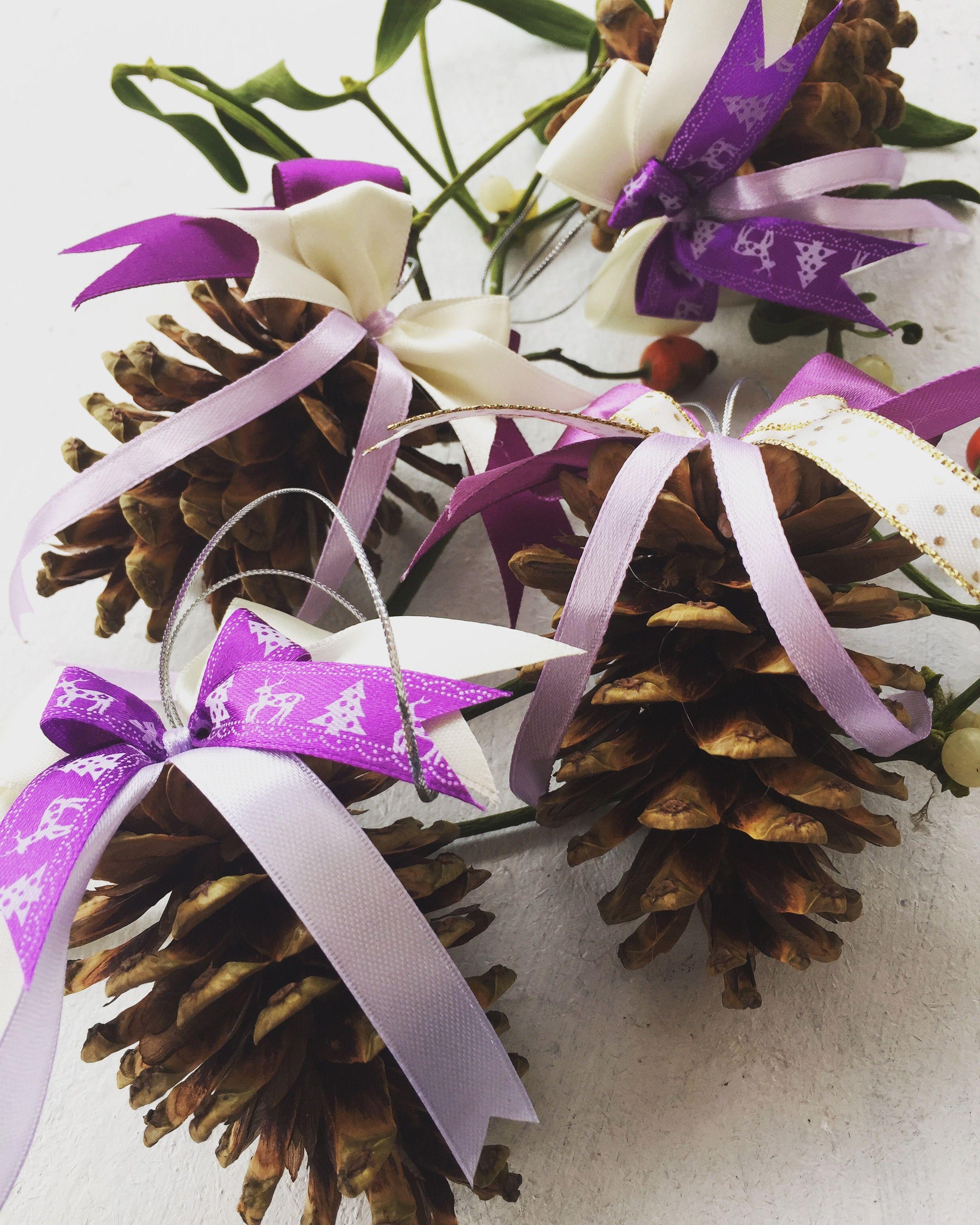 Diy Nature Homemade Christmas Tree Ornaments  Term Szetes Anyagokb