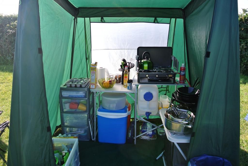 Camping Kitchen Setups Pics Ukcampsite Co Uk Camping Under Canvas Forum Camp Kitchen Camping Forum Camping