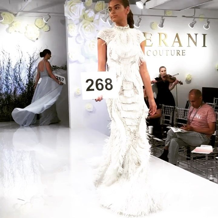 """cb93966878a6 TERANI Couture Europe on Instagram: """"SHOW time: Ready for the show (World  of PROM, Atlanta mart)// #show #catwalk #Atlanta #AtlantaApparelMart  #Worldofprom ..."""