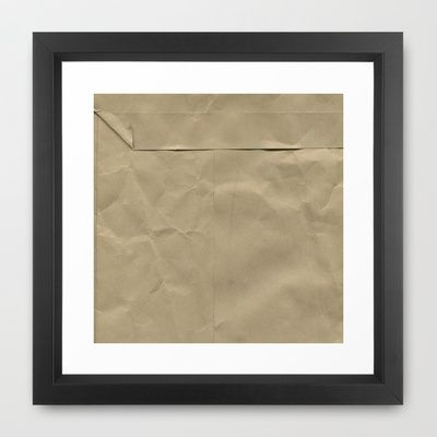 Posted Framed Art Print by Art Works by BooSilva - $30.00