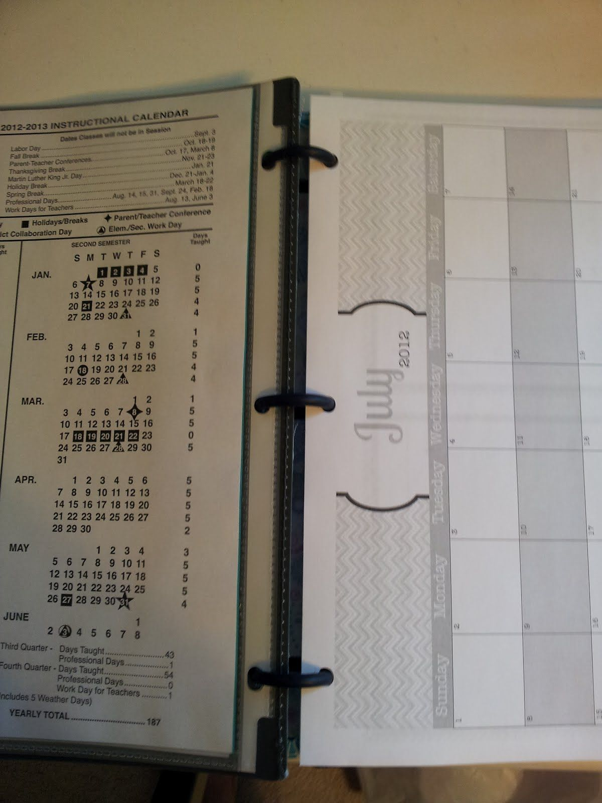 High School Teacher Binder With Free Printables For