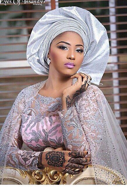 Aso Oke Gélé headwrap turban attaché foulard ~African ...
