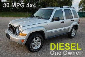 Perfect Great 2005 Jeep Liberty Diesel Mpg
